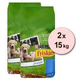 Purina FRISKIES Dog Junior 2 x 15kg