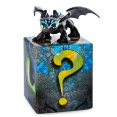 Set figurine Dragoni, Toothless si dragonul surpriza, How to Train your Dragon, Spin Master