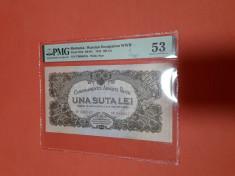 Bancnote romanesti 100lei car 1944 gradata 53 foto