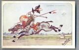 AX 100 CP VECHE INTERBELICA-UMORISTICA MILITARA -LA MARNE-SEPTEMBRIE 1914CALARET, Franta, Necirculata, Printata