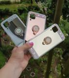 Husa silicon oglinda  cu inel Huawei  P40 lite ; P40 Pro