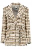 Cumpara ieftin Sacou dama Msgm tartan tweed blazer 3041MDG08 217102 23 Multicolor, 38, 40, 42