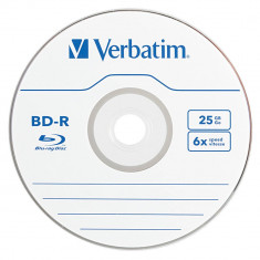 Mediu optic Verbatim BD-R 25GB 6x Printabil