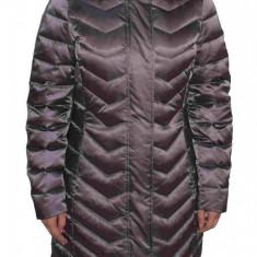 Jacheta textil dama, din poliamida, marca Geox, W8425H-F1480-E6-06, antracit 42