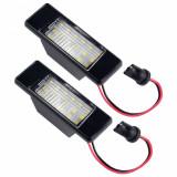 Cumpara ieftin Set 2 lampi numar led Nissan Qashqai, Juke, X-Trail - BTLL-152