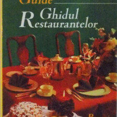 RESTAURANTS GUIDE, GHIDUL RESTAURANTELOR, 2000