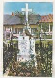 Bnk cp Manastirea Varatic - Mormantul Veronicai Micle - circulata, Printata, Agapia