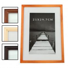 Rama foto Alvin din lemn, 21x29,7 cm