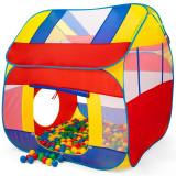 Cort de joaca copii XXL + 300 bile colorate, Kiduku, KZ-011