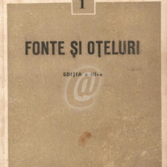 Fonte si oteluri (Ed. a III-a)