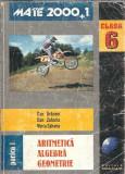 Aritmetica, algebra. geometrie pentru clasa a 6 a - Dan Branzei ( partea intai )