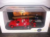 Macheta Citroen 2CV AZU-B sapeurs pompiers  - ATLAS scara 1:43