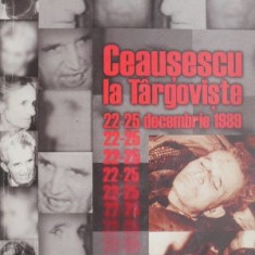 Ceausescu la Targoviste 22-25 decembrie 1989 – Viorel Domenico