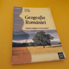 GEOGRAFIA ROMANIEI PENTRU EXAMENUL DE BACALAUREAT STELUTA DAN EDITURA ART