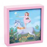 Tablou luminos Djeco, unicornul feeric