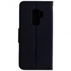 Husa SAMSUNG Galaxy S9 - Leather Fancy TSS, Negru
