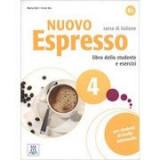 Nuovo Espresso 4 (libro + CD audio)/Expres nou 4 (carte + CD audio). Curs de italiana B2. Carte si exercitii pentru elevi - Maria Balì, Irene Dei