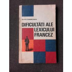 DIFICULTATI ALE LEXICULUI FRANCEZ - SILVIA PANDELESCU