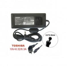 Alimentator Laptop - TOSHIBA SATELLITE P755 - 10D , 19V , 6.32A , 120W , Dimensiune mufa 5,50x2,50x12,00mm