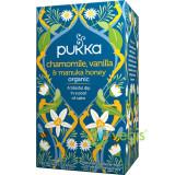 Ceai de Musetel, Vanilie si Miere de Manuka Ecologic/Bio 20dz