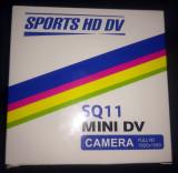 Mini Camera SPORT 2x2 cm, Full HD (1920x1080) SQ11 + card 2 GB cadou