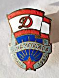 INSIGNA CLUBUL DINAMO DINAMOVIADA FINALA 1955