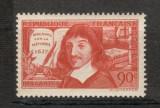 "Franta.1937 300 ani ""Discurs asupra metodei""-R.Descartes-matematician  MF.63"