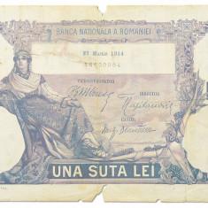 100 Lei 27 martie 1914