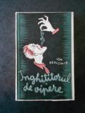 ION DRAGOMIR - INGHITITORUL DE VIPERE (1942, prima editie)