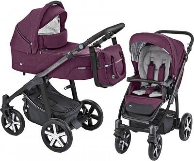 Carucior Multifunctional Baby Design Husky 06 Violet 2019 (winter pack) foto