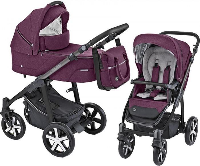 Carucior Multifunctional Baby Design Husky 06 Violet 2019 (winter pack)