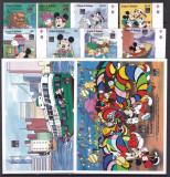 Antigua si Barbuda 1994  Disney  MI  1924-1931 + bl.282,283   MNH  w63