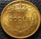 Moneda istorica 200 LEI - ROMANIA REGAT, anul 1945   *cod 5336