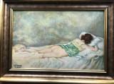 Nud semnat Kimon Loghi
