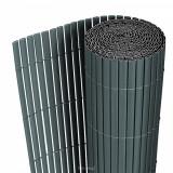 Cumpara ieftin Gard opac - protectie vizuala din PVC 90 x 300 cm gri