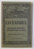 LUCEAFARUL , REVISTA PENTRU LITERATURA SI ARTA , ANUL XIV , NO . 7 si 8 , 1 -14 APRILIE , 1919