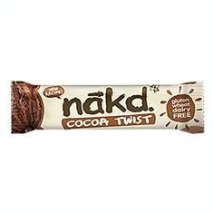 Baton cu Cacao Twist Nakd 30gr Natural Balance Foods Cod: 5060088706169
