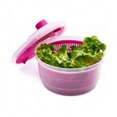 Uscator salata 20.5 cm culooare: roz dimensiune: 20.5x20.5x12 cm
