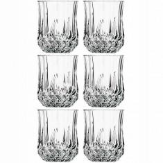 Set 7 piese whisky din cristal, model clasic