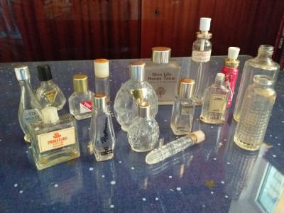 Colectie sticle parfum vintage + bonus foto