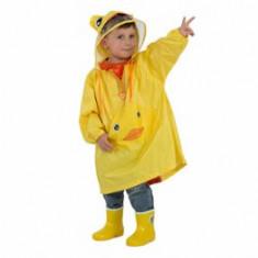 Pelerina de ploaie pentru copii R201 Galbena M
