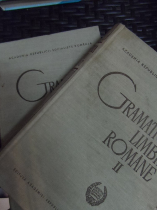 Gramatica Limbii Romane Vol.1-2 - Colectiv ,548640