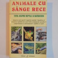 ANIMALE CU SANGE RECE de R. D. BARTLETT