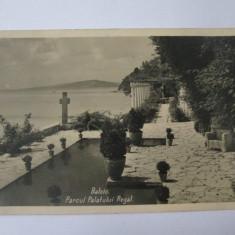 Cadrilater/Balcic(Caliacra)-Parcul palatului regal,carte postala foto 1939