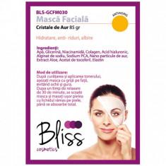 Mască facială cu cristale de aur și colagen(BLS-GCFM030)