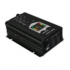Invertor tensiune cu display 12v-220v, 500 w, usb
