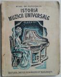 M. GR. POSLUSNICU - ISTORIA MUZICII UNIVERSALE {1935}