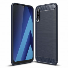 Husa Samsung Galaxy A50 - Carbon Brushed Blue foto