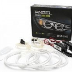Kit Angel Eyes CCFL BMW X5 2000-2007 E53 Alb