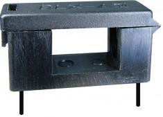 Soclu pentru sigurante 5x20mm, cu capac de protectie, pentru PCB - 122531 foto